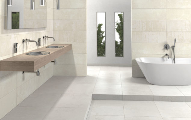 Plaster Beige + Decor Beige_WC amb