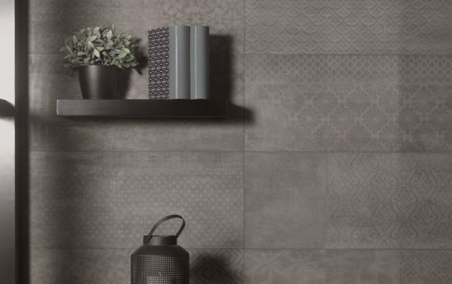 Cersaie 2016_Decor PatchBoard Dark Grey