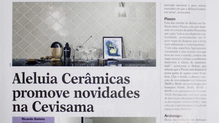 Aleluia Cerâmicas promove novidades na Cevisama