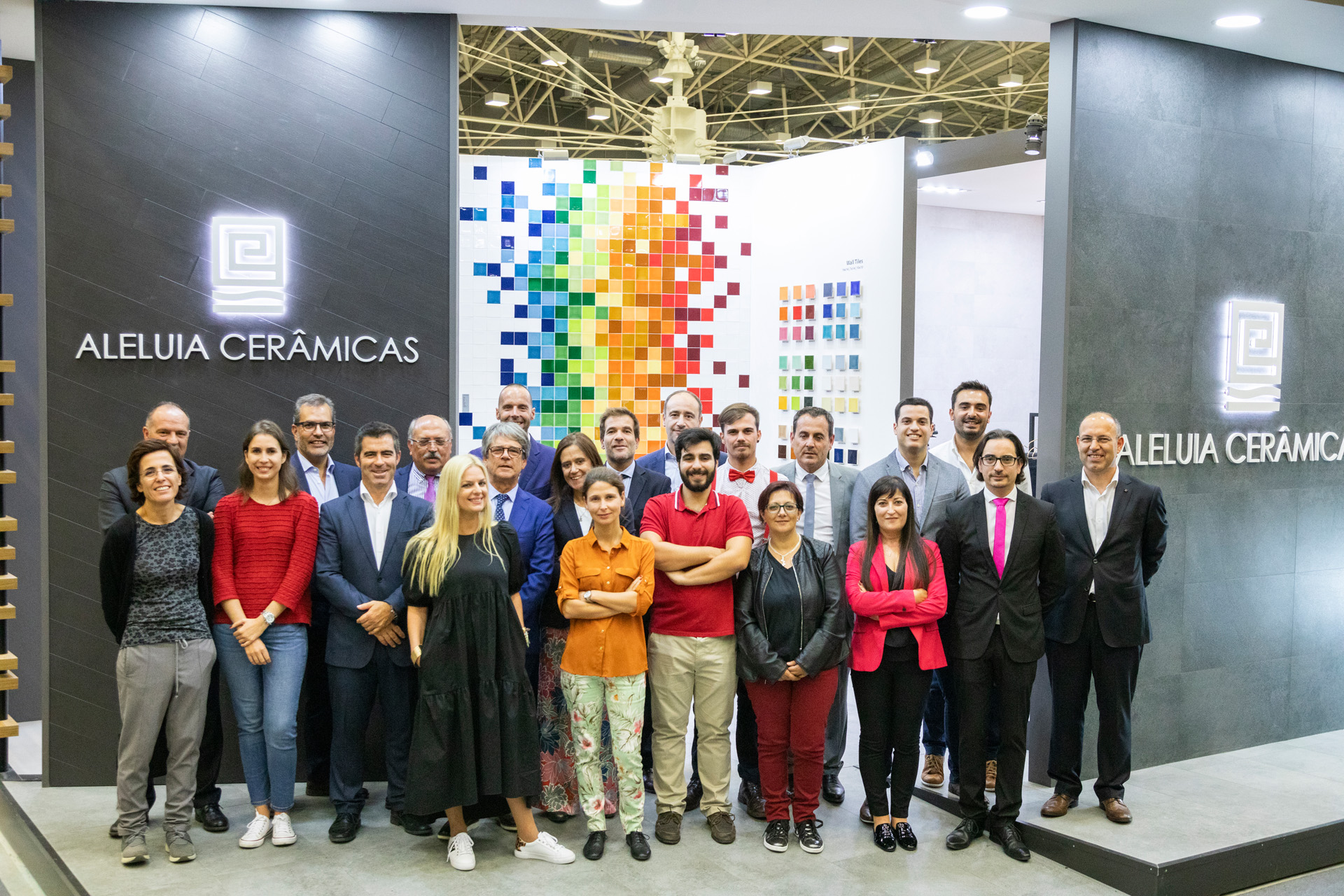Aleluia Cerâmicas at Cersaie'19