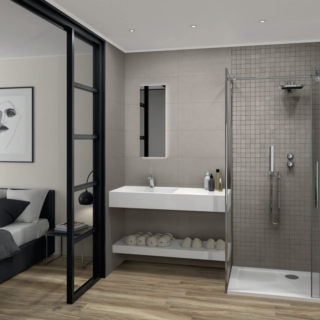 Sandstone Grey WC Hotel